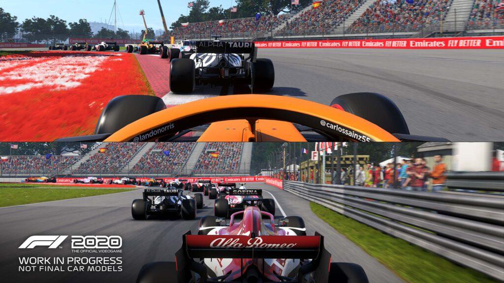 F1 2020 Splitscreen