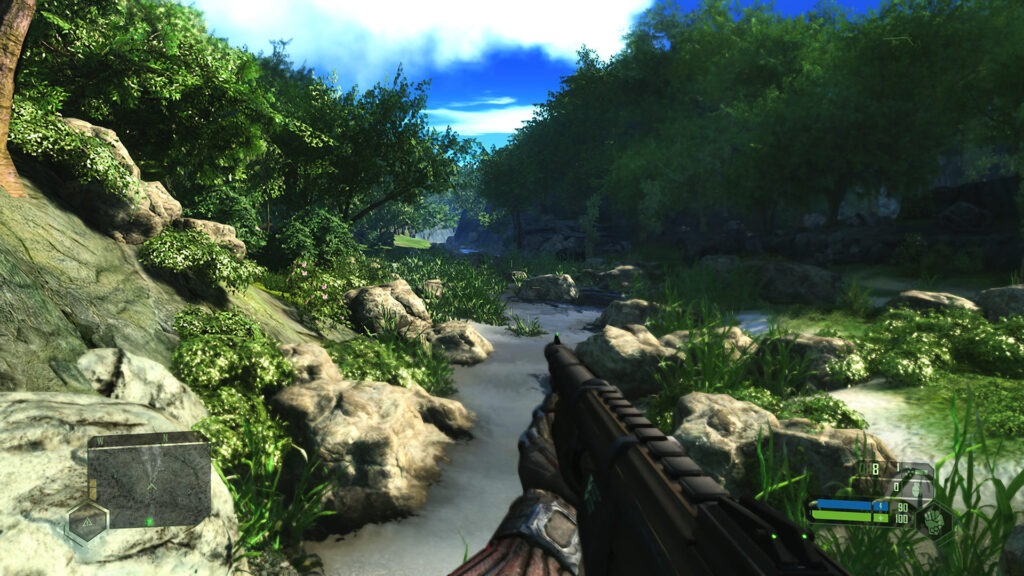 Crysis Remastered Gameplay